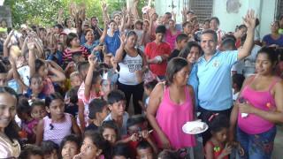 Fiesta de Reyes e inauguración del tercer comedor en Veracruz
