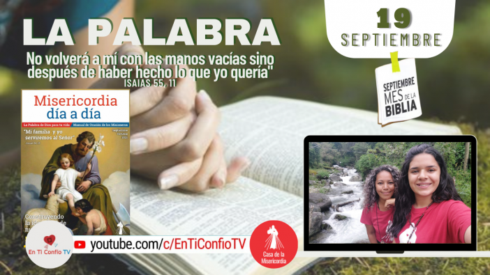 Camino Diario de Oración Personal / 19 de Septiembre del 2021