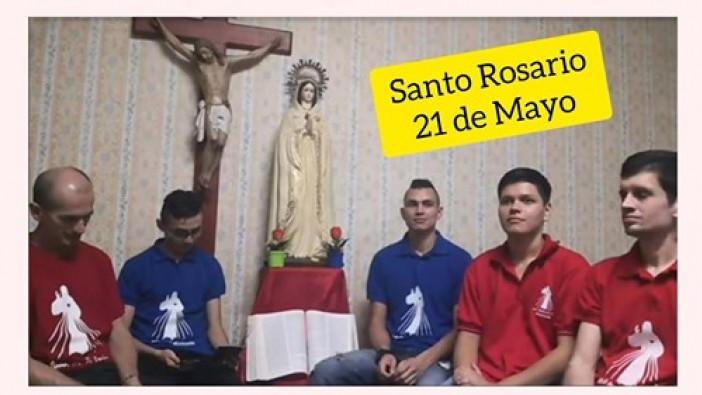 Santo Rosario 21 de Mayo