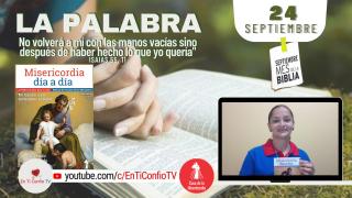 Camino Diario de Oración Personal / 24 de Septiembre del 2021