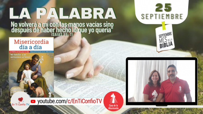 Camino Diario de Oración Personal / 25 de Septiembre del 2021