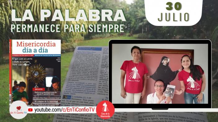 Camino Diario de Oración Personal / 30 de Julio del 2021