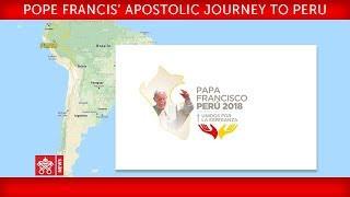 Papa Francisco - Viaje Apostólico a Perú - Rezo de la Hora tercia
