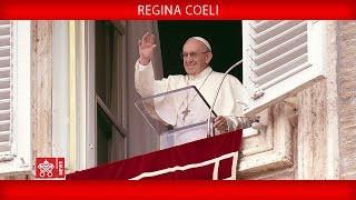 Papa Francisco - Rezo de la Oración del Regina Coeli