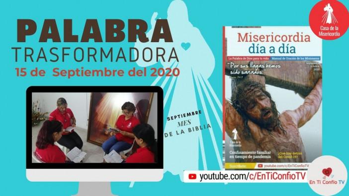 Camino Diario de Oración Personal / 15 de Septiembre de 2020