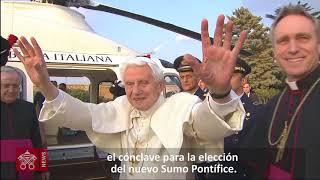 5 años de la renuncia del Papa Benedicto XVI