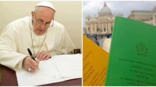Publican la esperada exhortación apostólica postsinodal Amoris Laetitia del Papa Francisco