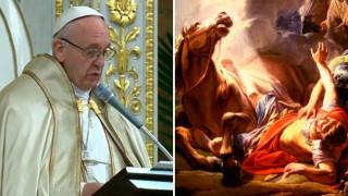 Papa Francisco: Como San Pablo debemos anunciar la misericordia recibida de Dios