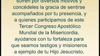 Oración por el Tercer Congreso Mundial Apostólico de la Misericordia