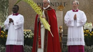 Homilía del Papa Francisco en Misa de Domingo de Ramos