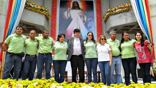 Peregrinación en el Santuario Nacional de la Divina Misericordia