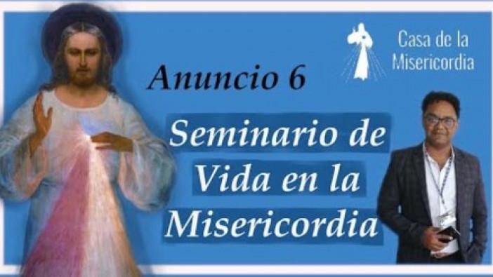 Seminario de Vida en la Misericordia  Anuncio 6: