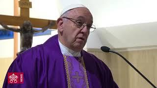 Francisco advierte del falso ayuno, ese que desprecia a los demás