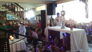 Bucaramanga celebro Lluvia de Bendiciones