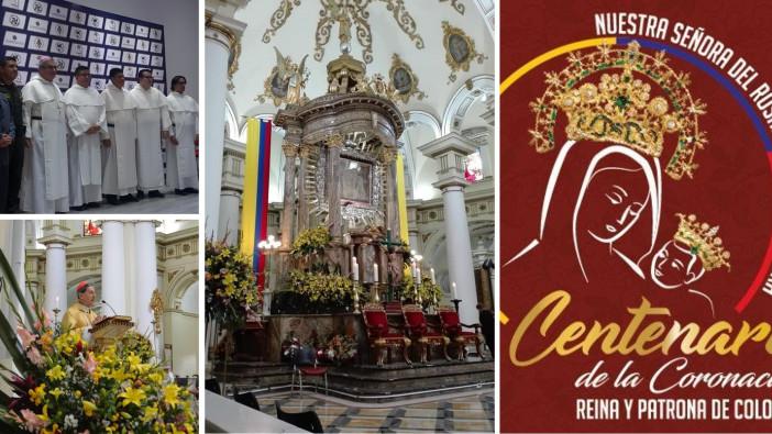 Unidos al  Centenario de Coronación de Nuestra Señora de Chiquinquirá como Reina y Patrona de Colombia