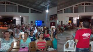 En Cúcuta se celebró vigilia en la parroquia Nuestra Señora del Rosario de Mongui