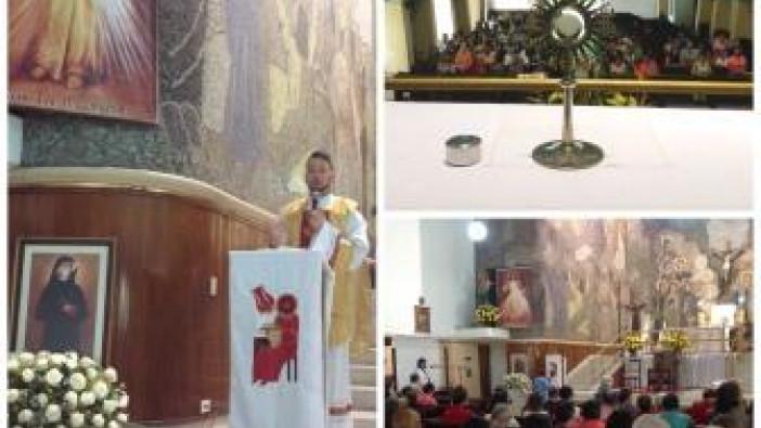 CDLM Medellín: Fiesta a Santa Faustina