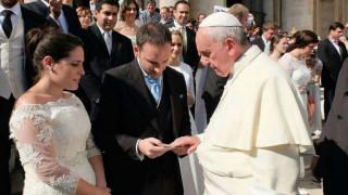 8 consejos del Papa Francisco para tener éxito en el matrimonio