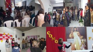 Este año Pentecostés en la sede Cristo Te Sana, un regalo de  la Misericordia