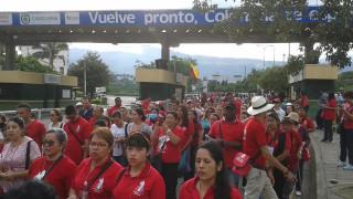 Fotos de la visita a inmigrantes venezolanos en la frontera con Cúcuta