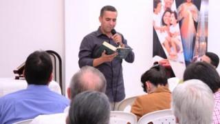 Visita del fundador de la Casa Misericordia a la sede Cristo Te Sana y Principal  en Bogotá