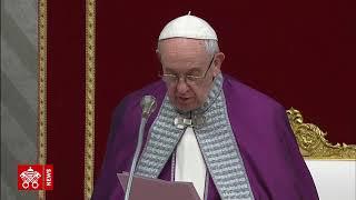 Celebración penitencial del Papa: 24 Horas para el Señor