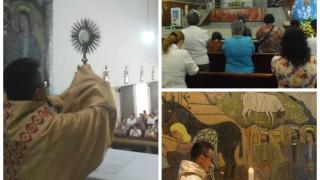 Las madres en Medellín, invitadas a ser amigas de Jesús.