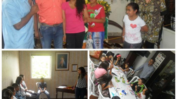 CDLM Medellín: Encuentro de misericordia con las familias.