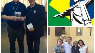 Crece nuestra Familia espiritual. Brasil nos da la bienvenida.