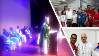 Compartimos la esperanza de la Misericordia de Dios y de  una Iglesia sin fronteras, Monseñor  Mario Moronta obispo de San Cristóbal Venezuela.