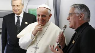 Esto fue lo que dijo el Papa Francisco en rueda de prensa sorpresa a bordo del avión papal