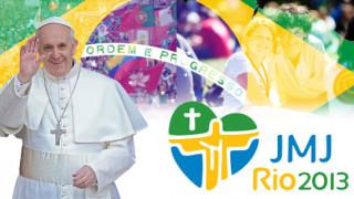 Gran expectativa en Brasil ante llegada del Papa Francisco