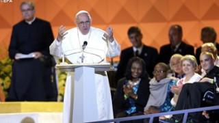 Mensaje del papa Francisco a las familias