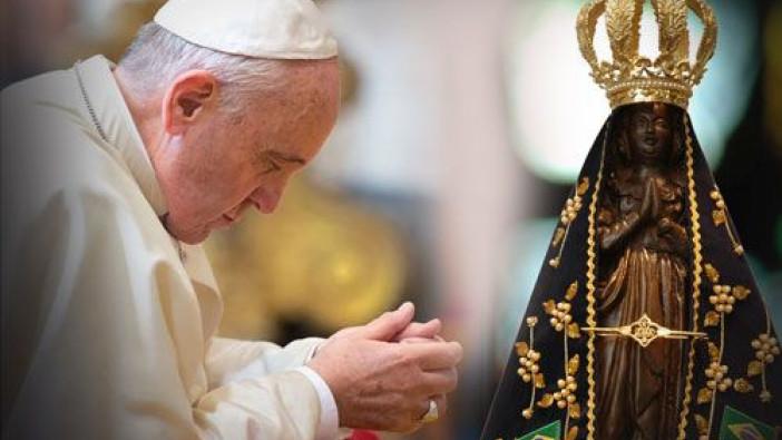 Homilía del Papa Francisco en el Santuario de Aparecida
