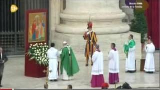 El Papa pronunciará oración especial por la familia el 29 de diciembre