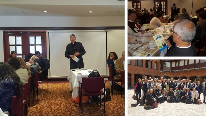 Participamos en el Primer  Encuentro de  Asesores de los Movimientos y Asociaciones de laicos en la Arquidiócesis de Bogotá