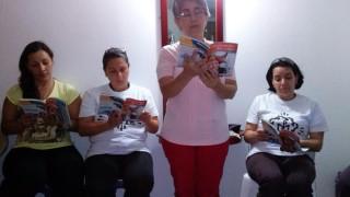 Eucaristía de socios en la comunidad Cristo te sana de la ciudad de Bogotá