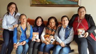 Llevando esta experiencia de encuentro orante con la Palabra de Dios, a los socios en la ciudad de Bogotá.
