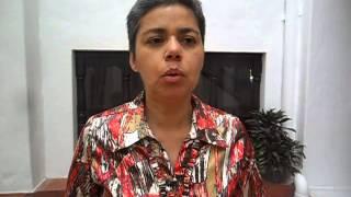 Testimonio de Alejandra Rodríguez en la comunidad de Medellin